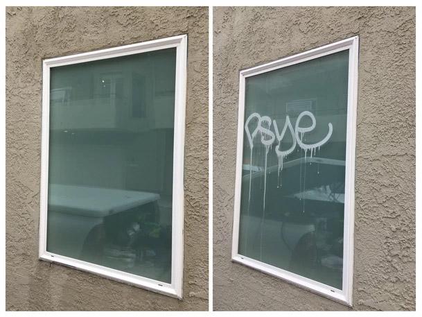 Glass Acid Etch Removal